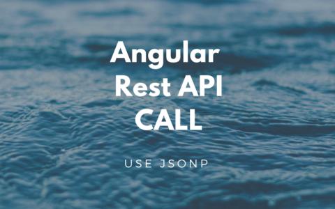 【Angular入門(8)】Rest APIをコールしてみる