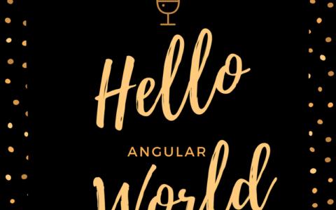 【Angular入門(2)】ひとまずHello Worldしてみる(Windows編)