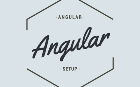 【Angular入門(1)】開発環境をWindowsに構築してみる