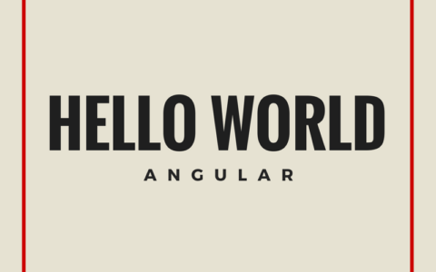 AngularでHello Worldしてみる(for Mac)