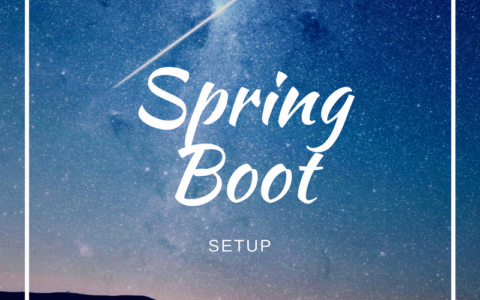 Spring Boot開発環境構築手順(for Mac)